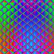 Multicolored geometrichesy background. Perspective Lights the ov — Stockfoto