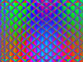 Multicolored geometrichesy background. Perspective Lights the ov — Stock Photo
