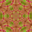 Creative background. Kaleidoscope.  A wonderful harmony of color — Stock Photo