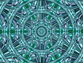 Creative background. Kaleidoscope. A wonderful harmony of color — Stock Photo
