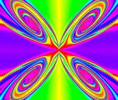 Geometrische abstract ornament. lichte bloem. a-0132. — Stockfoto
