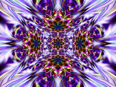 Geometric abstract ornament. Kaleidoscope. Without Frame. A-01 — Stock Photo