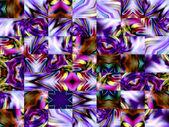 Ornamento astratto geometrico. caleidoscopio. a-0147. — Foto Stock