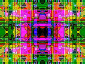 Geometric abstract multicolored ornament backgroun . A-0166. — Stock Photo