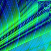 Nádherná fraktální barevné skleněné dlaždice ve stylu — Stock fotografie
