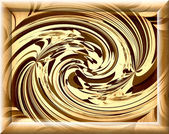 Spontaneous harmony swirl in monochrome colors and strictly rect — Stock Photo