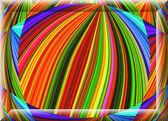 Colorful ornament decorative feature, magic splendor, wonderful — Stock Photo