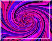 Spontane Harmonie Windung in bunten Farben und streng re — Stockfoto