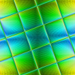 Multi-colored stained glass art glass tile for design works. — Stockfoto #45460239