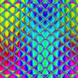 Multi-colored stained glass art glass tile for design works. — Stockfoto #45534781
