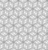 Abstract vector seamless motif pattern — Stock Vector