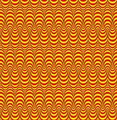 Resumen de patrones sin fisuras con columnas de rombos redondeadas — Vector de stock
