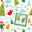 Royalty-Free Stock Vector Image: Merry_christmas_pattern