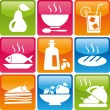 Food_icons_set - Stock Vector
