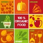 Organic100% — Stock Vector