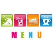 Food_menu — Stock Vector