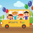 School_bus - Imagen vectorial