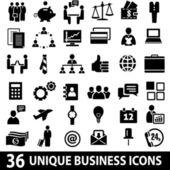 Businessiconsset — Vector de stock