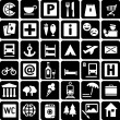 Royalty-Free Stock Vektorfiler: Tourist Icons