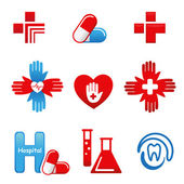 MedicalIcons — Stock Vector