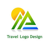 TravelDesign — Stock Vector
