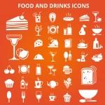 Foodicons — Stock Vector