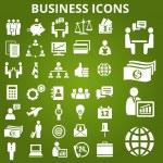 businessset — Vector de stock