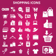 Shoppingicons — Stock Vector #22499141