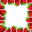 Strawberry Frame — Stock vektor #23478633