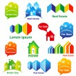 RealEstateIcons — Stock Vector #25619701