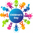 ChildrensDay — Stock Vector