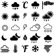 Stock Vector: WeatherIcons