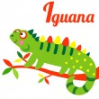 IguanaL — Stock Vector