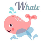 Whale — Stock Vector