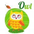 OwlLetter — Stock Vector