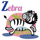 Zebra — Vetorial Stock