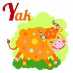YakLetter — Stock Vector