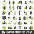 BusinessIcons — Vector de stock