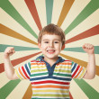 Funny little boy — Stock Photo #19604157
