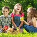 Портрет детей — Стоковое фото