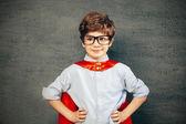 Superhero boy — Stock Photo