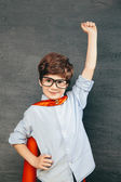 Superhero boy — Stock Photo