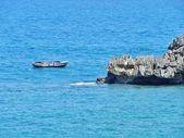 Un bateau de pêche autochtone. — Photo