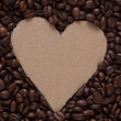 Heart Coffee — 图库照片