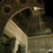 Interior of an Islamic temple - Stock Photo