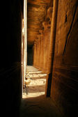 Tempel von edfu - ägypten - horus — Stockfoto