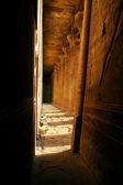Tempio di edfu - egitto - horus — Foto Stock
