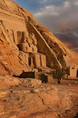 Abu Simbel, Egypt. Ancient Egyptian Pharaoh Rameses the 2nd — Stock Photo