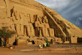 Abu Simbel, Egypt. Ancient Egyptian Pharaoh Rameses the 2nd — ストック写真