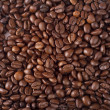 Close-up coffee background texture. Brown — Stock Photo
